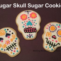Sugar Cookie Sugar Skulls