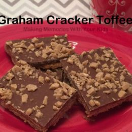 Chocolate, Caramel and Graham Cracker Toffee AKA: Christmas Crack