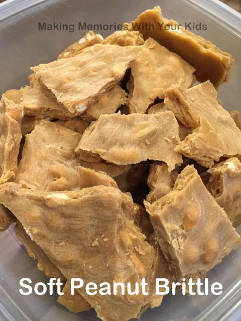 Soft Peanut Brittle