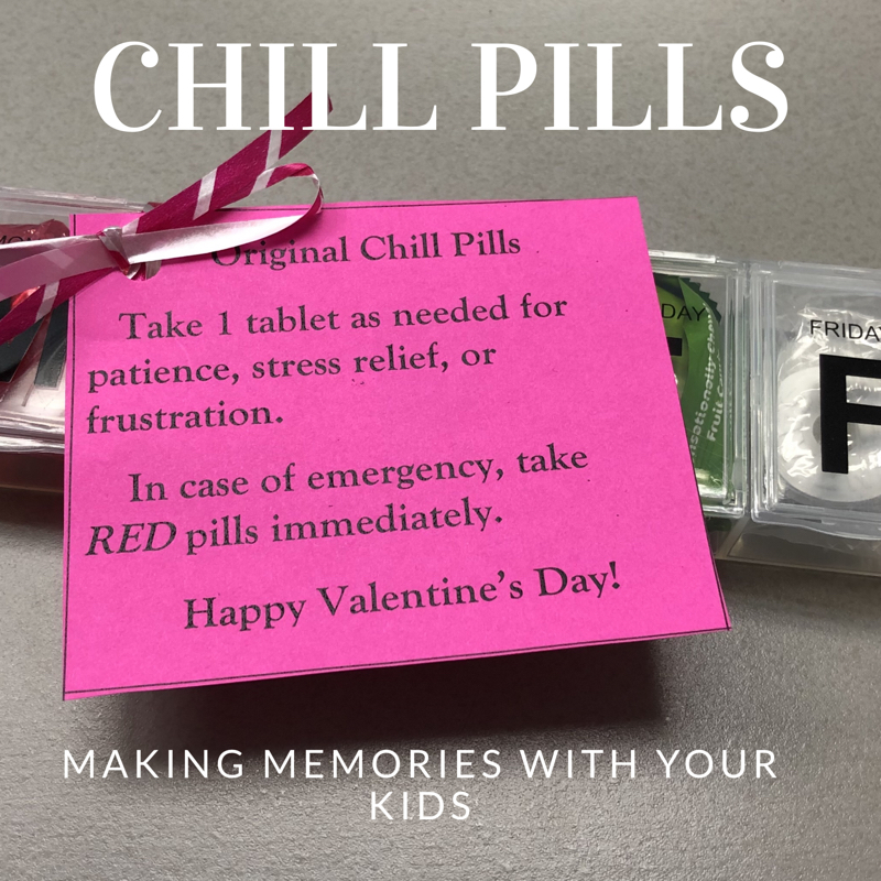 Chill Pills with Gift Tag